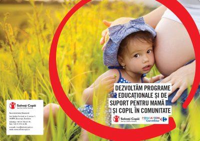 Carrefour Romania și Salvați Copiii luptă împotriva mortilității infantile  în 28 de comunități defavorizare din 14 județe din țară!