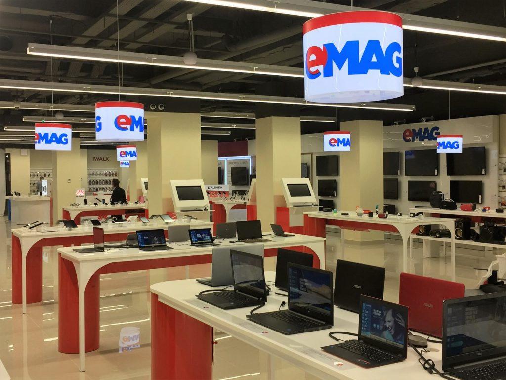 eMAG deschide al doilea showroom din București în Titan