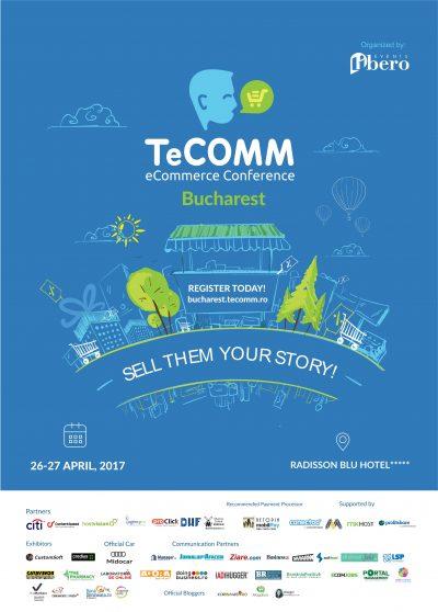 TeCOMM 2017: Extinderea magazinelor online la nivel international