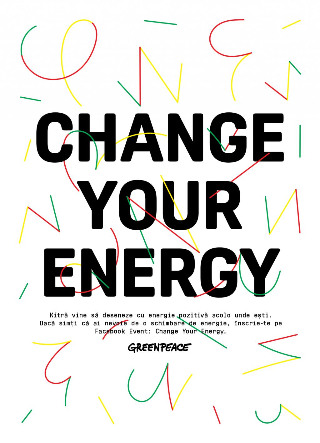 Greenpeace România – Planeta are nevoie de tine! Concurs Greenpeace: Change your energy!