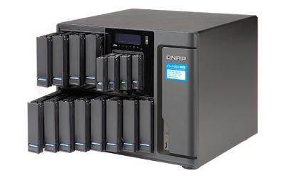 QNAP introduce serverul NAS TS-1685 cu procesor Xeon D și 16 sertare