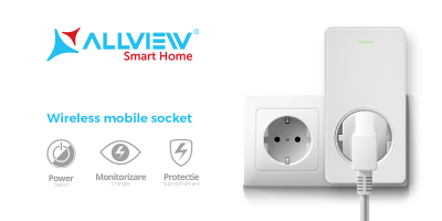 Allview consolideaza portofoliul dedicat pietei de sisteme smart home  si lanseaza prizele inteligente
