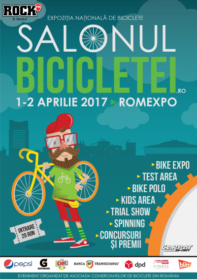Salonul Bicicletei 2017 1 – 2 Aprilie, Romexpo