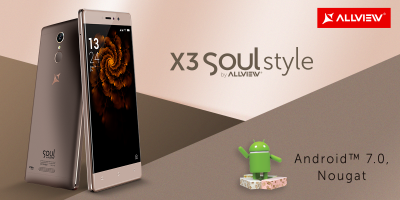 X3 Soul Style, update la Android 7.0