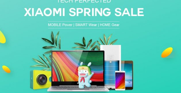 Xiaomi Spring Sale la gearbest