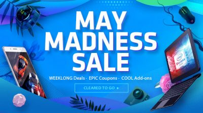 May Madness Sale la gearbest