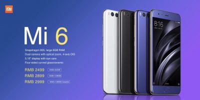 Xiaomi Mi6 este disponibil pentru precomanda la Gearbest