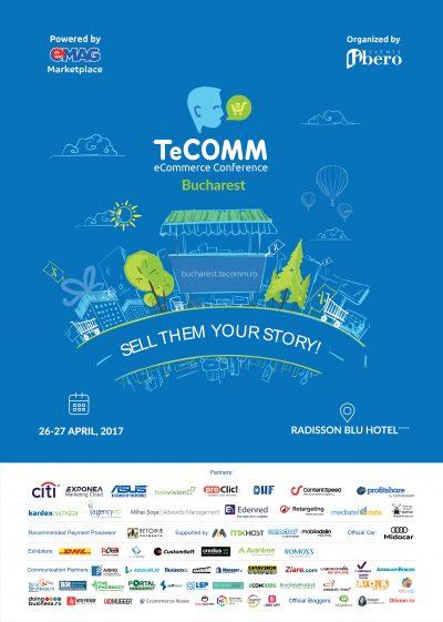 Cele mai mari magazine online prezente în această săptămână  la TeCOMM București