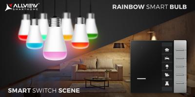 Allview extinde portofoliul de produse smart home cu becuri inteligente și comutator wireless
