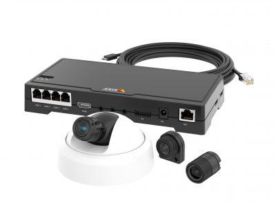 Axis anunta lansarea de  noi camere de supraveghere video de retea