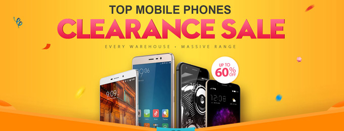 Mobile Phone Clearance Sale la Gearbest