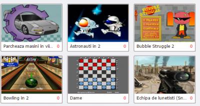 Copiii si jocurile online