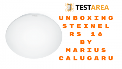 Steinel RS 16 – Lampa cu senzor de miscare: unboxing