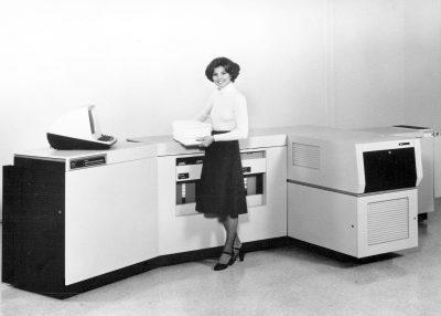 40 de ani de la prima imprimanta laser de la Xerox