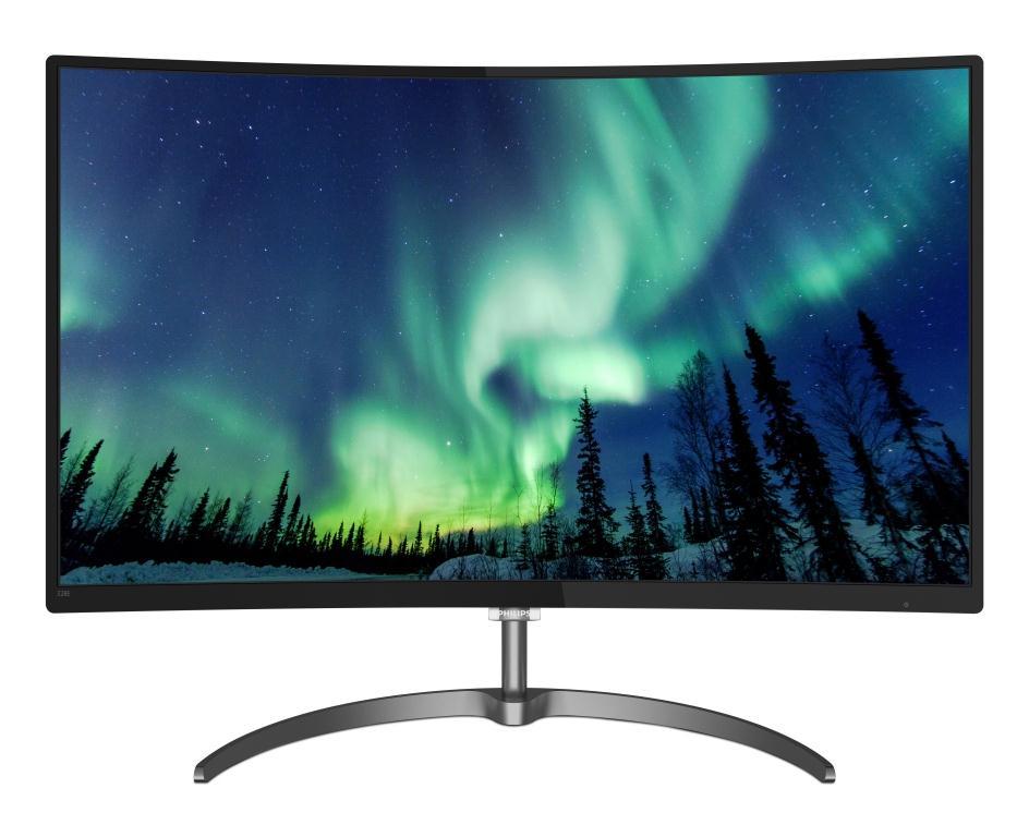 Cea mai bună priveliște dintr-o locuință: Noul monitor Philips LCD de 32 inci are culori uimitoare într-un design elegant, curbat