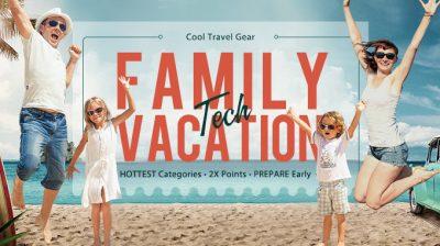 Family Tech Vacation la gearbest
