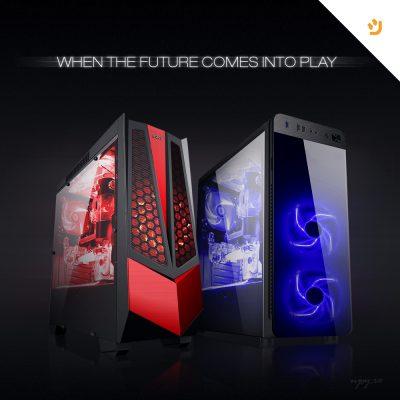Noile carcase de gaming nJoy așteaptă să intre în joc
