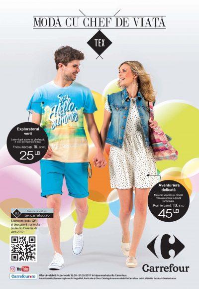 O călătorie a culorilor estivale cu noua colecţie de vară Tex, disponibilă exclusiv la Carrefour