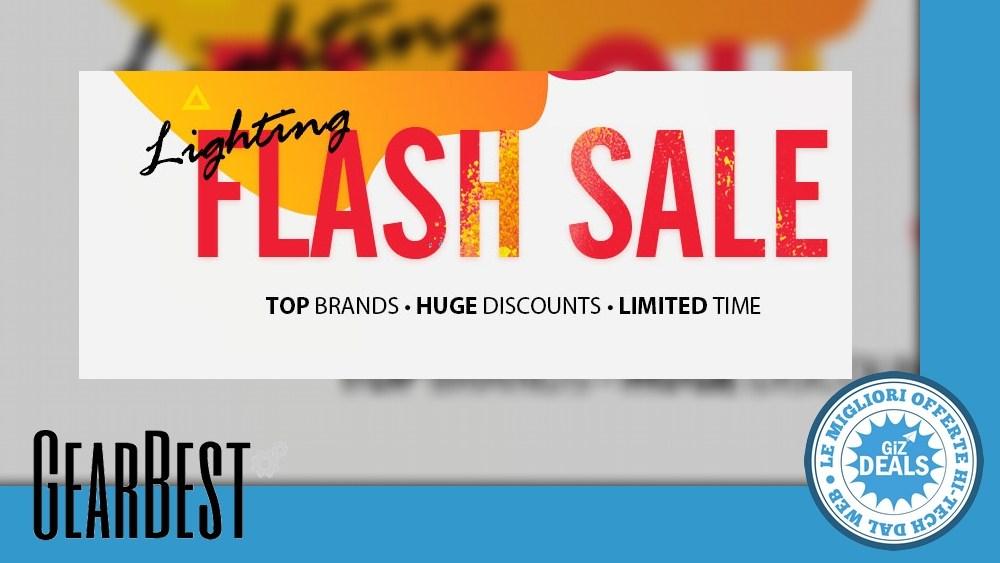 Lightning Flash Sale la gearbest