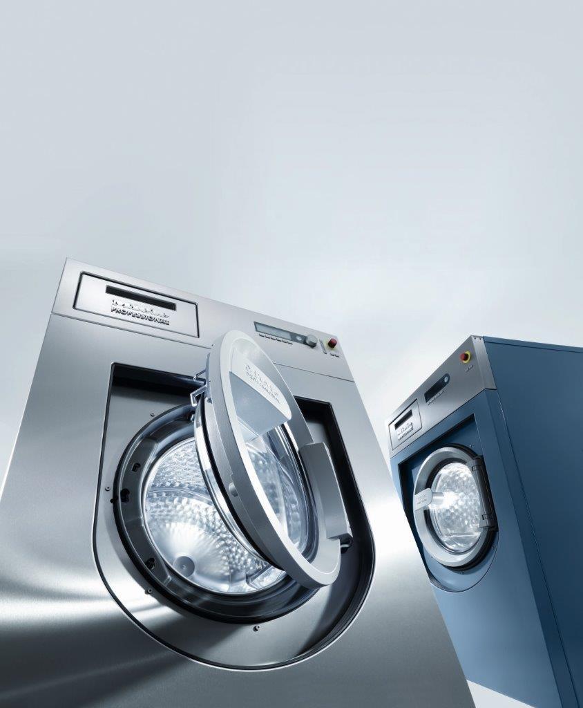 Miele lansează o nouă gamă de mașini de spălat rufe profesionale cu un nou sistem de închidere a ușii, unic pe piață