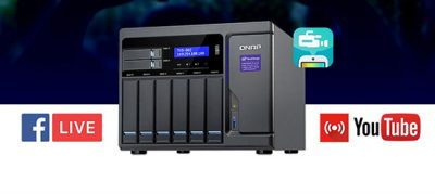 QNAP DJ2 Live permite streaming video 4K salvând materialul pe NAS