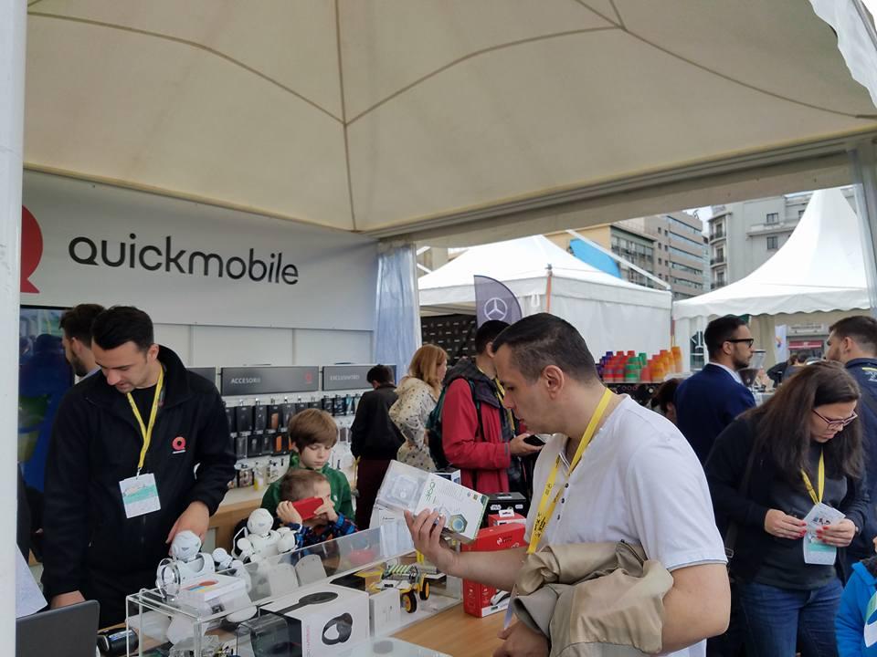 Recomandarea zilei: Standul QuickMobile de la Bucharest Technology Week