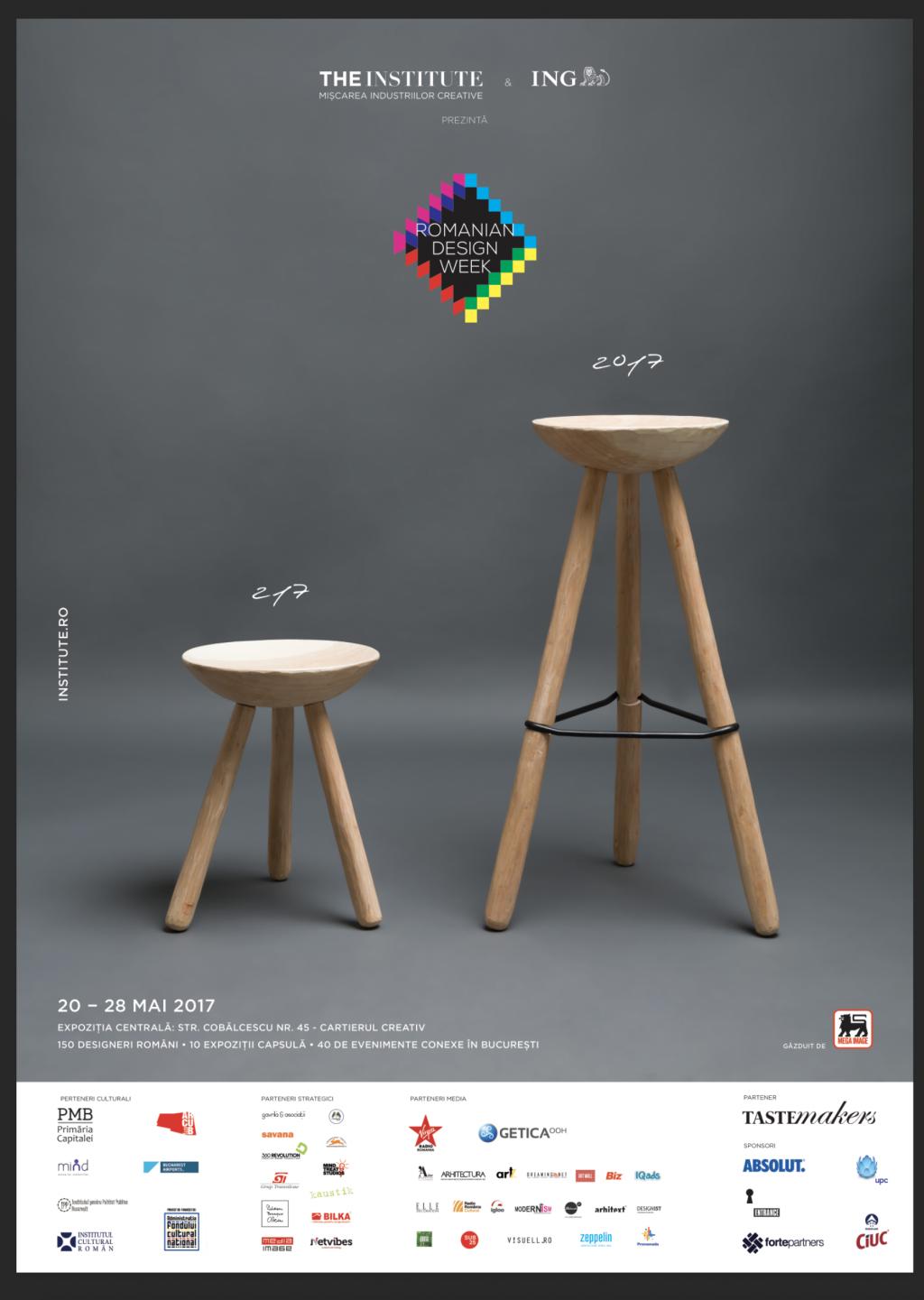 Cea mai aglomerată săptămână a designului începe mâine Start Romanian Design Week
