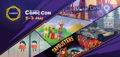 RGDA vine la East European Comic Con cu două jocuri românești în premieră