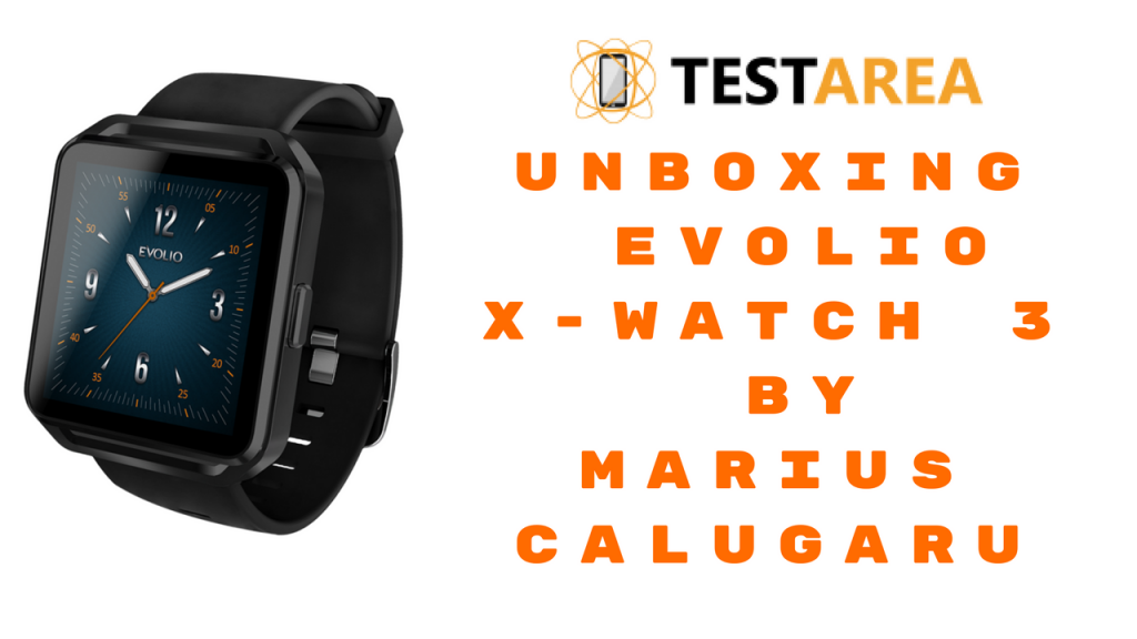 Unboxing Evolio X-Watch 3