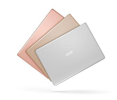 Acer lanseaza doua noi modele din seria Swift, notebook-uri elegante si ultra-slim, impreuna cu noile modele din seria Aspire