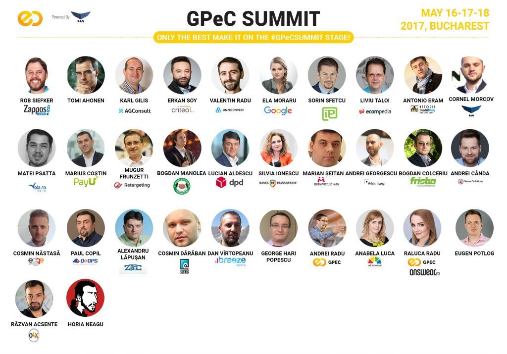 Castiga o invitatie de tip 3-day-pass la GPeC Summit 2017, cel mai important eveniment de e-commerce din Romania!