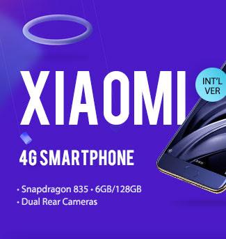 Xiaomi Mi 6 disponibil la pretul de 459.99$ la gearbest