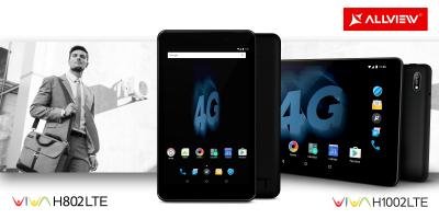 Allview a lansat tabletele Viva H1002 LTE și Viva H802 LTE