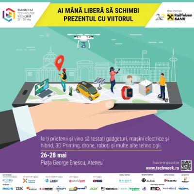 Ce vezi, ce testezi, ce inveti la Bucharest Technology Week 2017