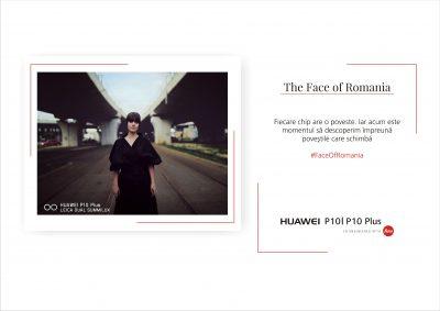 Huawei lansează campania #FaceofRomania