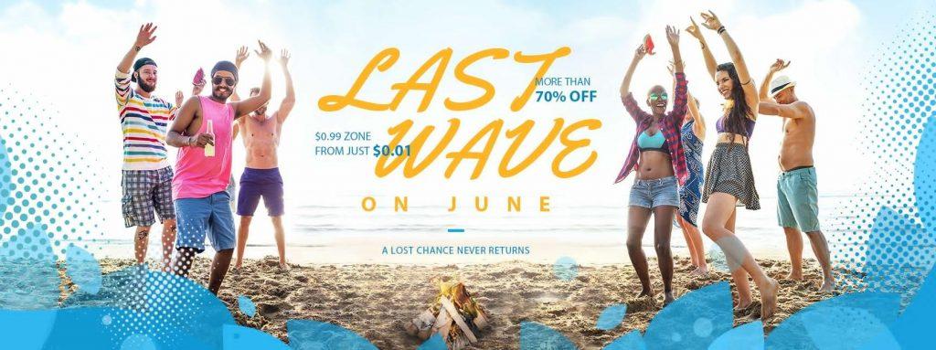 Last Wave Summer Sale la gearbest