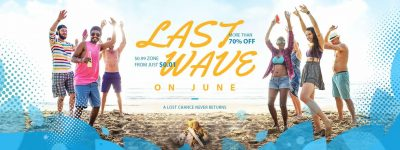 Last Wave Summer Sale la gearbest