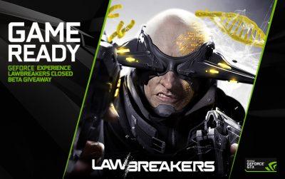 Noul driver Game Ready pentru Lawbreakers Rise Up Beta este disponibil începând de azi
