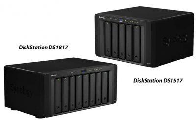 Synology® lansează DiskStation DS1517 şi DS1817