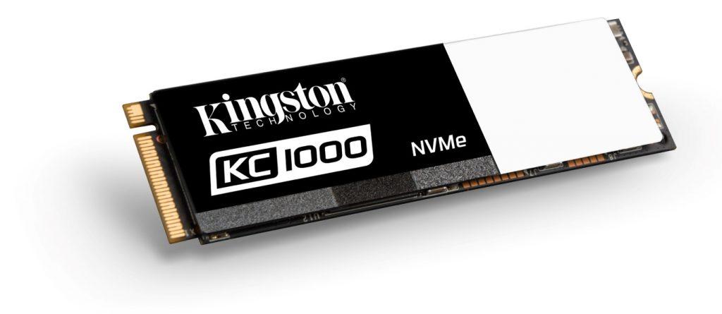 Kingston lansează SSD-ul KC1000 NVMe PCIe, de două ori mai rapid decât SSD-urile SATA