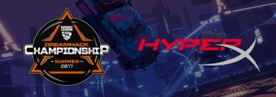 DreamHack și HyperX încheie un parteneriat pentru competițiile DreamHack Summer și Atlanta Rocket League Championship