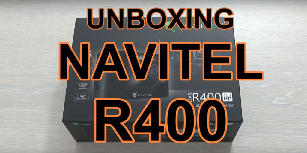 Camera auto DVR Navitel R400 – unboxing