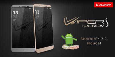 V2 Viper S a primit update la Android™ 7.0, Nougat