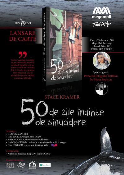 Proiectul fotografic IUBESC, by Marta Popescu și colecția Leda Edge lansează volumul 50 de zile înainte de sinucidere
