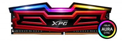 ADATA lansează modulele de memorie DDR4 XPG SPECTRIX D40 RGB  cu suport pentru ASUS AURA Sync