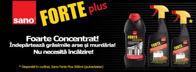 Vara aceasta, Sano România a pregătit o nouă campanie media, dedicată gamei Sano Forte Plus