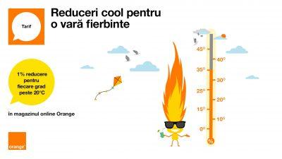 Hot Summer aduce reduceri în magazinul online Orange