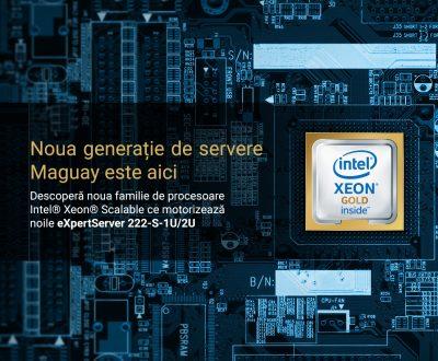 Maguay lanseaza noile servere Maguay eXpertServer, bazate pe familia de procesoare Intel® Xeon® Scalable
