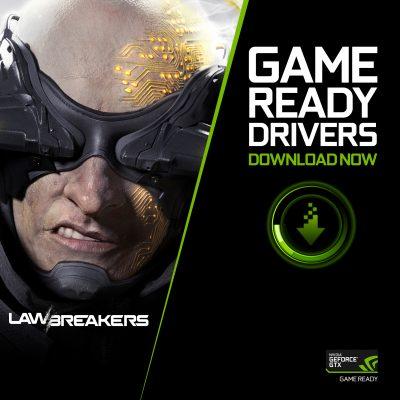 NVIDIA lansează noul driver Game Ready pentru Lawbreakers, primul titlu compatibil cu ShadowPlay Highlights