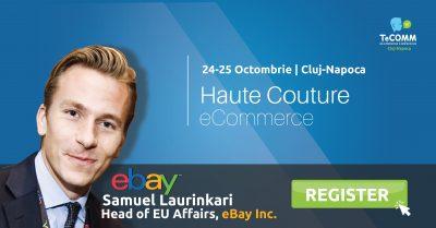 Liderul global eBay vine in premiera la TeCOMMCluj!
